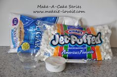 This is the way i mske fondant. Make-a-Cake Series: Making and Coloring Fondant Snack Recipes, Dessert Recipes, Cooking Recipes, Snacks, Yummy Recipes, Homemade Fondant, Making Fondant, Cake Making, Marshmallow Fondant