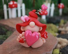 Polimero argilla bambino Gnome Gnome del bambino in di GnomeWoods