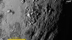 This is the first high-resolution image of Pluto's surface