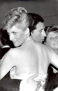 Diana dancing with Charles.