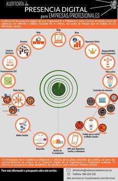 Servicio de Auditoría de Presencia Digital #infografia