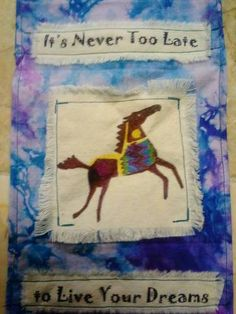 Never too late Flag Pins, Prayer Flags, Pennant Banners, Never Too Late, Sachets, Craft Organization, Dream Catchers, Craft Patterns, Fabric Art