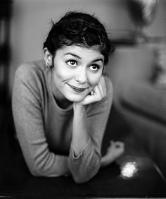 """Audrey Tautou- """"When I was a teenager, I thought nothing would ever happen to me because my childhood was so normal. I had this complex of normality."""""""
