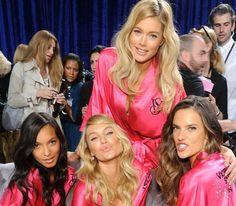 Victoria's Secret 2011 Fashion Show Backstage Hair and Makeup