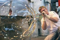glass blowing | glass blowing is a delicate exacting unforgiving art and it