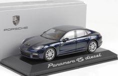 #transformer herpa porsche panamera 4s diesel 2016 dark blue model car 1:43 genuine new
