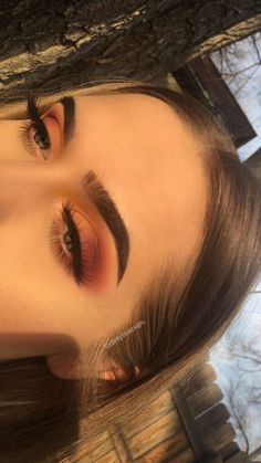 Yeah that's right you only need perfects eyebrows & your make up will look great So as you can see it's not that hard. Here are some make up ideas Cute Makeup, Gorgeous Makeup, Pretty Makeup, Awesome Makeup, Easy Makeup, Simple Makeup, Makeup Goals, Makeup Inspo, Makeup Inspiration