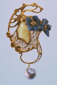 Art Nouveau, Lalique Jewelry, Pendants