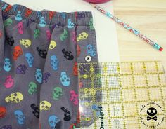 Made with Moxie: Making your own Boxer short pattern