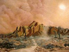"""DustNado"", Oil on canvas 2013. POA"