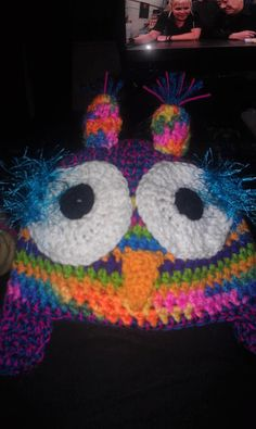 crochet owl hat customise me by Trinketastic on Etsy, $25.00