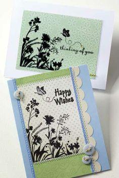 Hero Arts Cardmaking Idea: Butterfly Wishes