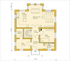 die 397 besten bilder von grundriss einfamilienhaus. Black Bedroom Furniture Sets. Home Design Ideas