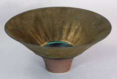 Lucie Rie (British, 1902-1995) A footed Bowl, circa 1980