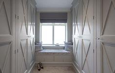 Suburban Luxury Essex - Hayburn & Co Walk In Wardrobe, Walk In Closet, Bedroom Inspo, Bedroom Inspiration, Dream Closets, Wardrobes, Master Bathroom, Curtains, Interior Design
