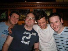 Jaime Dornan w/ friends    2007