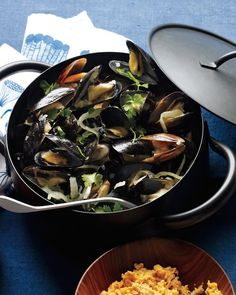 Mussels with Sausages and Fennel | Recipe | Steamed Mussels, Mussels ...