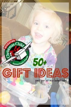 Operation Christmas Child gift ideas on a Budget