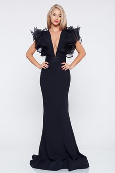 Navy Prom Dresses, Event Dresses, Formal Dresses, Hello Summer, Haute Couture Fashion, Designer Dresses, Cute Outfits, Glamour, Gowns