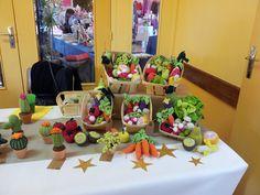 marché de noël (fruits, légumes et cactus)