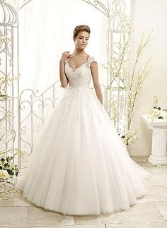 77963 - Eddy K - Princess Gown Dress - Tulle and Lace - Vestidus