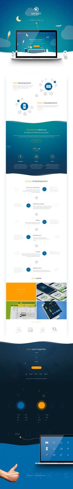 """다음 @Behance 프로젝트 확인: """"Mysvit.net Website Design"""" https://www.behance.net/gallery/44917881/Mysvitnet-Website-Design"""
