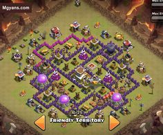 Top 5 TH8 4 Mortar War Base of 2015  Clash of Clans