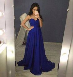 Sparkly Prom Dress, Royal Blue Sweetheart Prom Dress, Chiffon Prom Gown Long Party Dress These 2020 prom dresses include everything from sophisticated long prom gowns to short party dresses for prom. Royal Blue Prom Dresses, Elegant Bridesmaid Dresses, Simple Prom Dress, Prom Dresses 2016, Formal Dresses For Teens, A Line Prom Dresses, Long Prom Gowns, Backless Prom Dresses, Cheap Prom Dresses