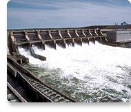 Hydropower: Hydroelectric power generates about 10% of the nation's energy.