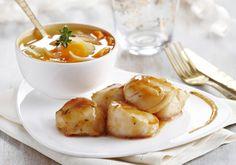 St Jacques rôties, nage de légumes d'hiver | Croquons La Vie - Nestlé