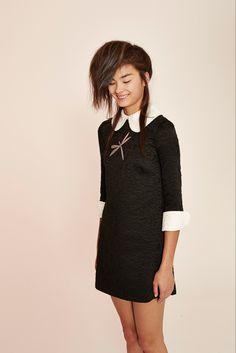 A.W.A.K.E Black and white Dress