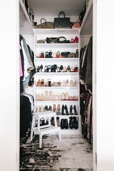 Cute walk-in-closet