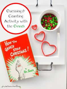 A Little Pinch of Perfect: How the Grinch Stole Christmas: Guessing & Counting Activity for Kids (Christmas Read + Play)
