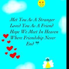 Met you...