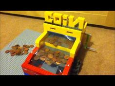 Lego penny or coin pusher - YouTube