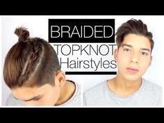 The Man Bun Braid Tutorial | Luca Fersko - YouTube