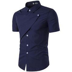 Casual Shirts For Men, Stylish Mens Shirts, Slim Fit Shirt is part of Stylish shirts men 2 - Stylish Shirts, Casual Shirts For Men, Stylish Men, Trendy Outfits, Terno Casual, Dress Casual, Mens Shirts Online, Men Online, Mens Designer Shirts