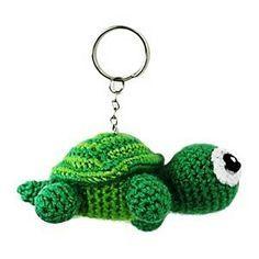 Great variety of amigurumi crochet patterns. Crochet Applique Patterns Free, Crochet Keychain Pattern, Crochet Patterns Amigurumi, Crochet Crafts, Crochet Yarn, Crochet Projects, Mini Amigurumi, Love Crochet, Crochet Animals