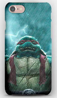 iPhone 7 Case Teenage mutant ninja turtles, Rain, Raphael