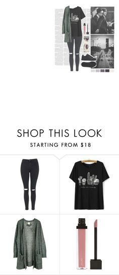 """""""N A M J I N"""" by typical-ghoul ❤ liked on Polyvore featuring Topshop, Julie Fagerholt Heartmade, Jouer and adidas"""