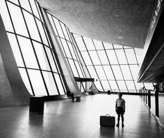 Eero Saarinen. Dulles International Airport. Virgina. 1962