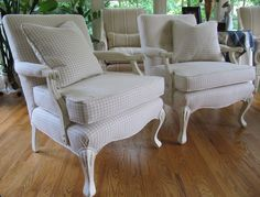 Wydeven Designs: Annie Sloan Chalk Paint Chairs Project - Another Completion