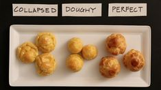 Have you experienced problems with cream puffs? Were the interiors doughy? Did they collapse when you removed them from the oven instead of coming out with a crispy golden brown exterior? The secret is pate a choux, an easy to make dough with only 5 ingredients, not counting water, that only takes only a matter of minutes to make.