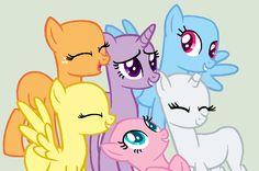 MLP Base-Friends All Together by Meg-Pony on deviantART