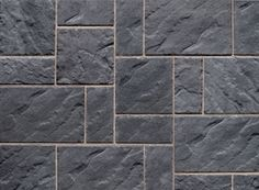 Wondering which pavers are best for your next project? Check out our Blu 80 Slate Pavers, which combine both a traditional, rustic and exotic feel. Slate Pavers, Slate Patio, Patio Slabs, Flagstone, Concrete Texture, Concrete Floors, Porch Tile, Shale Grey, Patio Privacy Screen
