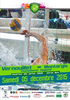05/12/2015 Match de Water-polo Vernouillet - Montargis