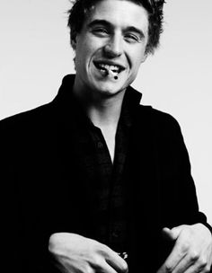Max Irons. I'd watch him smoke a cig any day. Great actor. Definitely will watch any project he is in. Can't wait for The White Queen.