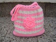 Cesta o Bolso a Crochet FETTUCCIA paso a paso - YouTube