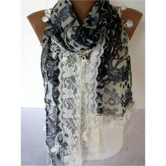 NEW--Elegant scarf Fashion scarf gift Ideas For Her Women's... ($20) ❤ liked on Polyvore featuring accessories, scarves and christmas scarves