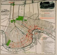 8 Best New Orleans Maps images